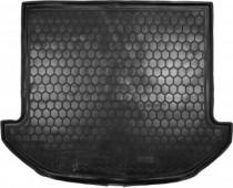 Полиуретановый коврик багажника Hyundai Santa Fe 2012- 7 мест Avto Gumm