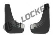 Брызговики Kia Cerato 2009-2013 передние к-т L.Locker