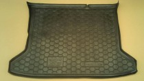 Полиуретановый коврик багажника JAC S3 Avto Gumm