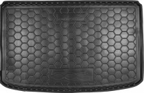 Полиуретановый коврик багажника Fiat 500L Avto Gumm