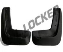 Брызговики Kia Ceed HB 2013- передние к-т L.Locker