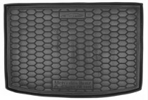 Полиуретановый коврик багажника Mercedes-Benz  A - class W169  Avto Gumm