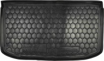 Полиуретановый коврик багажника Nissan Micra 2010- Avto Gumm