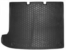 Полиуретановый коврик багажника VW T5 Caravelle длинная база (без печки) Avto Gumm