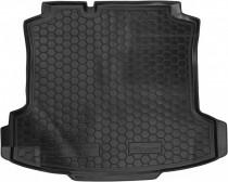 Полиуретановый коврик багажника VW Polo sedan 2010- Avto Gumm