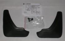 L.Locker Брызговики Nissan Almera (classic) SD 2006- задние к-т