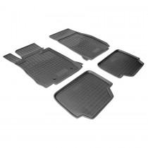 Коврики резиновые BMW 1 Series (F20/F21) 2011- Nor-Plast
