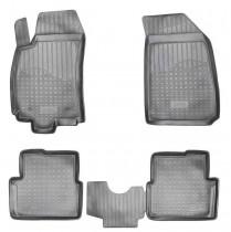 Коврики резиновые Chevrolet Cobalt/Ravon R4  Nor-Plast