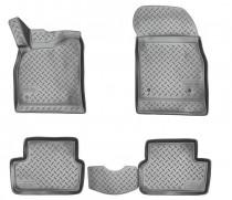 Коврики резиновые Chevrolet Cruze 3D 2008- Nor-Plast