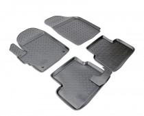 Коврики резиновые Chevrolet Spark 2005-2011 Nor-Plast