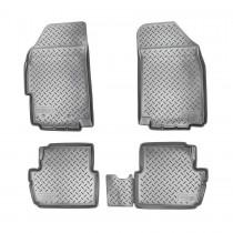 Коврики резиновые Chevrolet Spark/Ravon R2 Nor-Plast