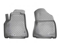 Коврики резиновые Citroen Berlingo Peugeot Partner Tepee 2008- передние Nor-Plast