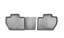 Коврики резиновые Citroen Berlingo Peugeot Partner Tepee 2008- задние 4 дв Nor-Plast