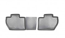 Nor-Plast Коврики резиновые Citroen Berlingo Peugeot Partner Tepee 2008- задние 4 дв
