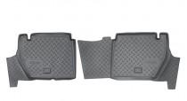 Коврики резиновые Citroen Berlingo Peugeot Partner Tepee 2008- задние 5 дв Nor-Plast