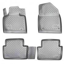 Коврики резиновые Citroen C5 (X7) 2008- Nor-Plast