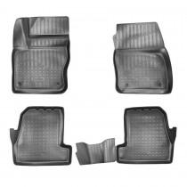 Коврики резиновые Ford Focus III 2014- 3D Nor-Plast