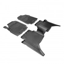 Коврики резиновые Ford Ranger 2011- 4D Double Cab Nor-Plast