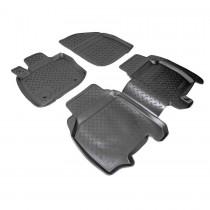 Коврики резиновые Honda Civic 2006-2012 5D Nor-Plast