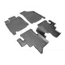 Коврики резиновые Infiniti JX/QX60 5 мест Nor-Plast
