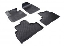Nor-Plast Коврики резиновые Kia Sorento 2015- 3D 5 мест