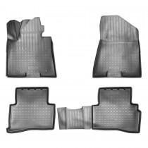 Коврики резиновые Kia Sportage 2015- Nor-Plast