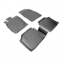 Коврики резиновые Mitsubishi Galant 2003-2010 Nor-Plast