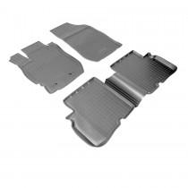 Nor-Plast Коврики резиновые Nissan Almera 2012-