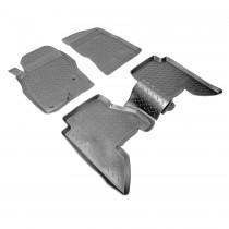Nor-Plast Коврики резиновые Nissan Pathfinder 2005-2012 5 мест