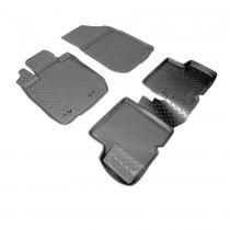 Nor-Plast Коврики резиновые Renault Duster 2011-/Nissan Terrano 2014- 4WD