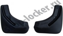 Брызговики Volkswagen Jetta  2014- задние к-т L.Locker