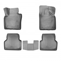 Коврики резиновые VW Tiguan 2011-2015 3D Nor-Plast