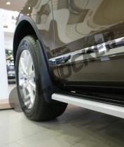 Брызговики Volkswagen Touareg 2010- передние