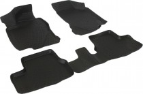 Глубокие коврики в салон ВАЗ Granta  полиуретановые L.Locker