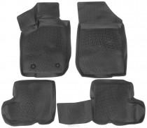 L.Locker Глубокие коврики в салон ВАЗ Largus/Renault MCV 2006-2013  полиуретановые