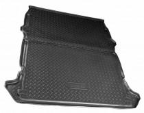 Коврик в багажник Fiat Doblo Cargo 2001- резино-пластиковый Nor-Plast
