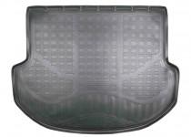 Коврик в багажник Hyundai Santa Fe 2012- 5 мест резино-пластиковый Nor-Plast