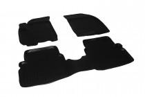 Глубокие коврики в салон Chevrolet Aveo 2003-2009/ZAZ Vida  полиуретановые L.Locker