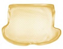 Коврик в багажник Infiniti FX (S50) 2003-2008 БЕЖЕВЫЙ  Nor-Plast