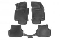 Глубокие коврики в салон Audi A3 (8V) sportback 2012-  полиуретановые L.Locker