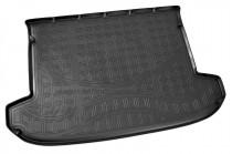 Коврик в багажник Kia Sportage 2015- резино-пластиковый Nor-Plast