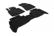 Глубокие коврики в салон BMW X5 (E53) 1999-2006   полиуретановые L.Locker