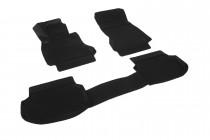 Глубокие коврики в салон BMW 5 series VI (F10,F11)  2009-2013  полиуретановые L.Locker
