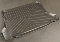 Коврик в багажник Opel Astra F sedan резино-пластиковый Nor-Plast