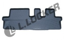 L.Locker Глубокий коврик в салон Chevrolet Orlando 2010- 3-й ряд сидений  полиуретановый
