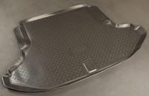 Коврик в багажник Subaru Legacy 2009-2014 резино-пластиковый Nor-Plast