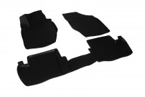 Глубокие коврики в салон Citroen C4 II hatchback 2011- полиуретановые L.Locker