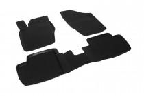 Глубокие коврики в салон Citroen C4 hatchback 2004-2010 полиуретановые L.Locker