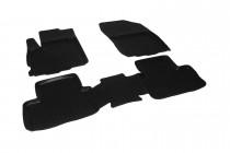 Глубокие коврики в салон Citroen C4 Aircross 2012- полиуретановые L.Locker
