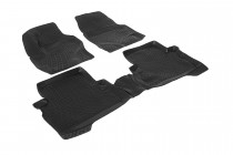 Глубокие коврики в салон Ford Kuga 2012- полиуретановые L.Locker